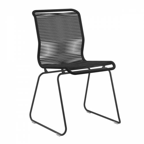 Montana - Panton One Stuhl, Clark / schwarz