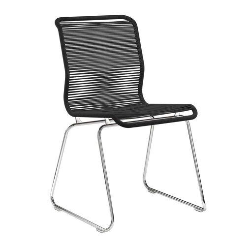 Montana - Panton One Stuhl, Clark / Chrom