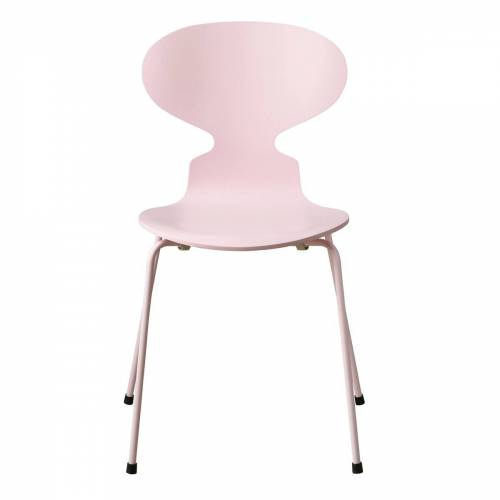 Fritz Hansen - Die Ameise Stuhl, Monochrom pale pink (4 Beine)