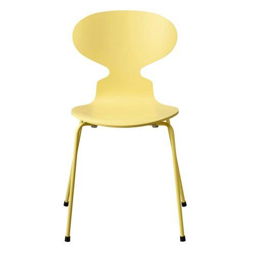 Fritz Hansen - Die Ameise Stuhl, Monochrom pale yellow (4 Beine)