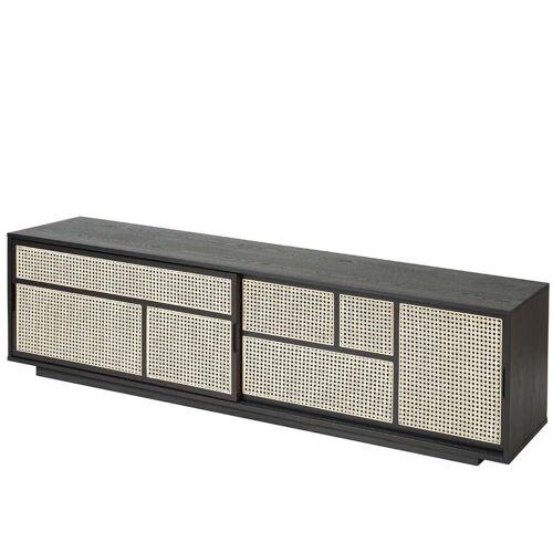 Design House Stockholm - Air Sideboard/ TV- Konsole, schwarz