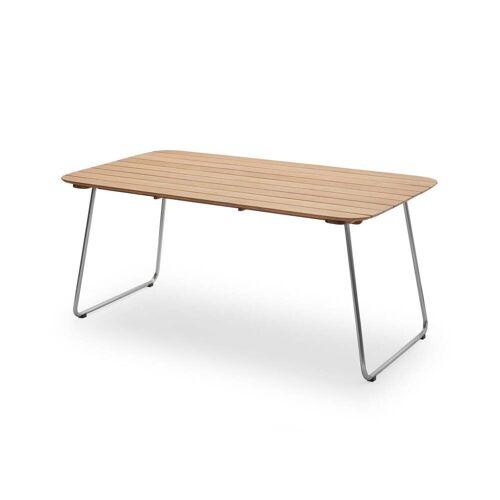 Skagerak - Lilium Tisch 160 x 90 cm, Teak / Edelstahl