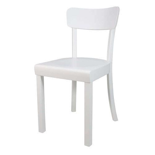 yunic - Frankfurter Stuhl 2.0., Buche weiß, matt lackiert