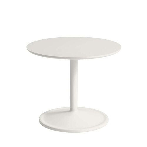 Muuto - Soft Beistelltisch, Ø 48 cm, H 40 cm, off-white