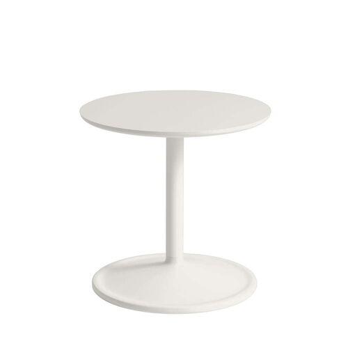 Muuto - Soft Beistelltisch, Ø 41 cm, H 40 cm, off-white