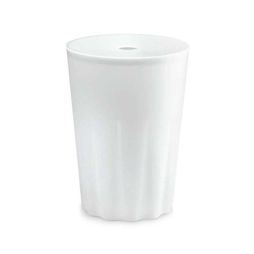 Depot4Design - Stool Hocker und Wäschetonne Ø 35 cm, weiß