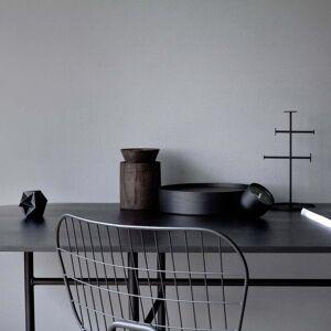 MENU - Snaregade Esstisch, rechteckig, schwarz