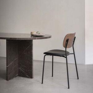 MENU - Co Dining Chair, Chrom / Eiche dunkel gebeizt