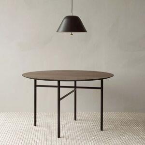 MENU - Snaregade Tisch, Ø 138 cm, Eichenfurnier schwarz gebeizt