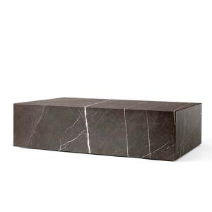 MENU - Plinth Couchtisch low, grau / braun