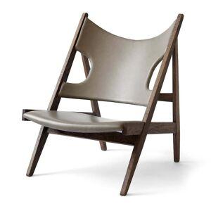 MENU - Knitting Chair, Eiche dunkel gebeizt / sand