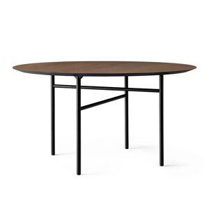 MENU - Snaregade Tisch, Ø 138 cm, Eichenfurnier dunkel gebeizt