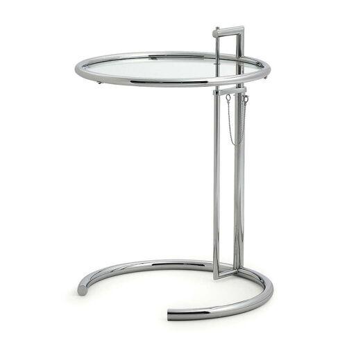 ClassiCon - Adjustable Table E1027, chrom / Kristallglas