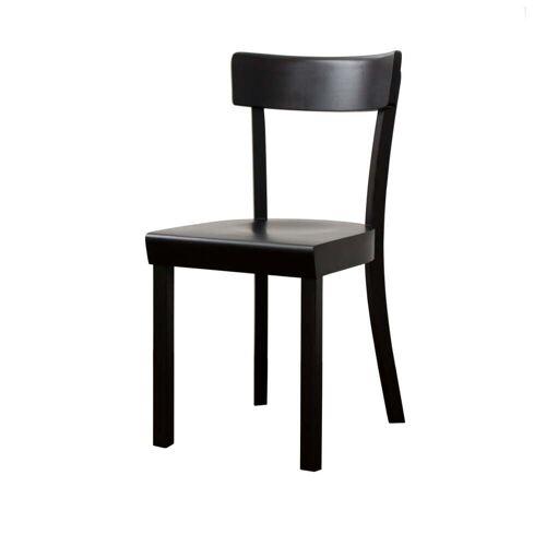 Stoelcker - Frankfurter Stuhl schwarz, matt lackiert
