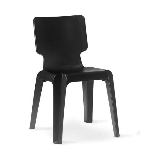 Depot4Design - Stuhl Wait, matt schwarz