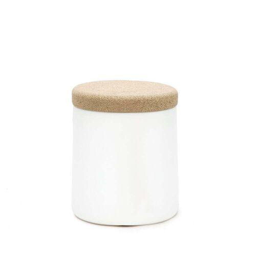 Kristalia - Degree Beistelltisch, weiß / Kork