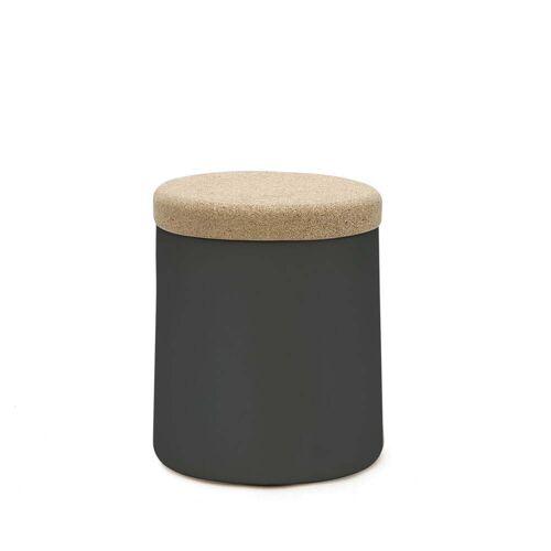 Kristalia - Degree Beistelltisch, schwarz / Kork