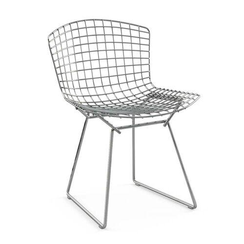 Knoll - Bertoia Stuhl ohne Polster, Chrom