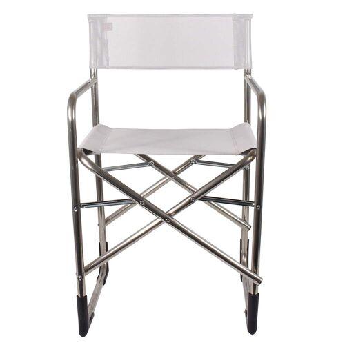 Fiam - Regie Aluminium Sessel, weiß