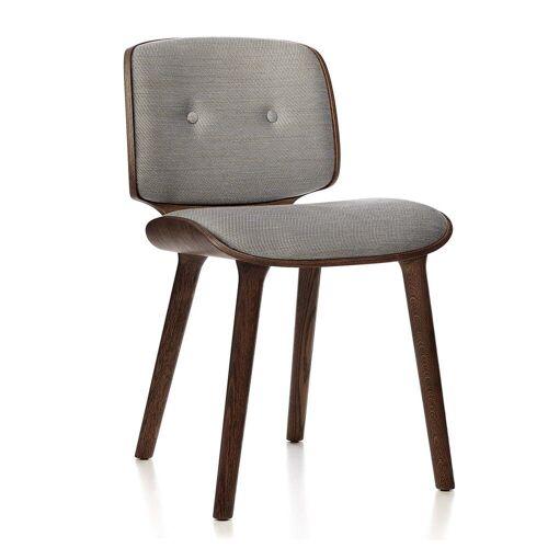 Moooi - Nut Dining Chair, Eiche zimtfarben / grau