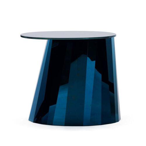 ClassiCon - Pli Side Table, saphir-blau glänzend