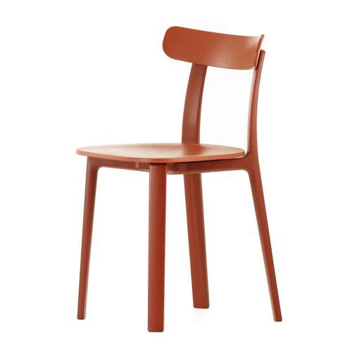 Vitra - All Plastic Chair, backstein (Kunststoffgleiter)