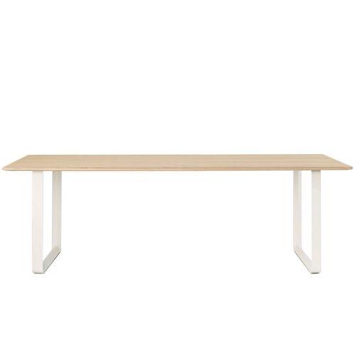 Muuto - 70/70 Esstisch, 225 x 90 cm, Eiche / weiß