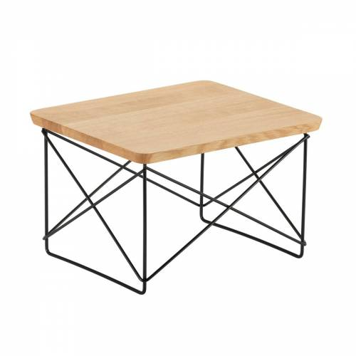 Vitra - Eames Occasional Table LTR, Eiche / basic dark