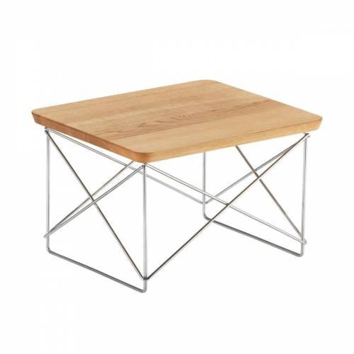 Vitra - Eames Occasional Table LTR, Eiche / chrom