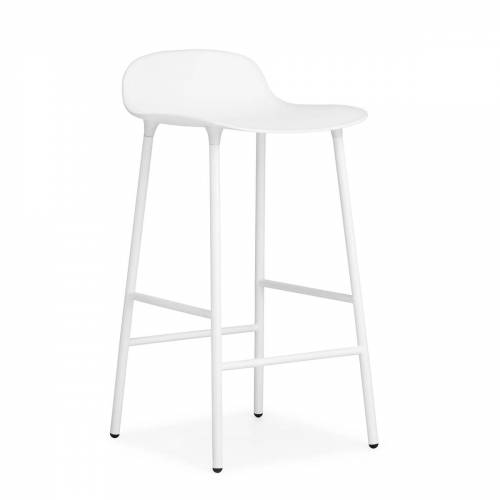 Normann Copenhagen Barhocker H 65 cm, weiß