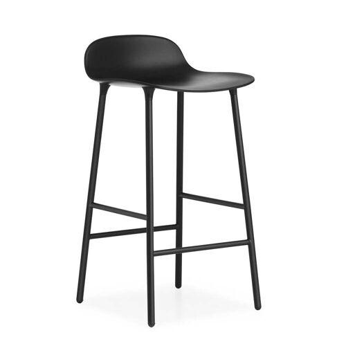Normann Copenhagen Barhocker H 65 cm, schwarz
