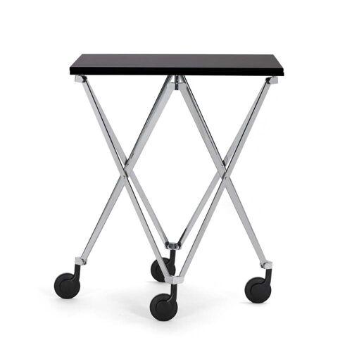 ClassiCon - Sax Rolltisch, Chrom / HPL schwarz