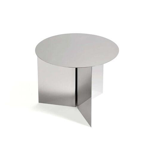 HAY - Slit Table Round Ø 45 x H 35.5 cm, spiegelpoliert