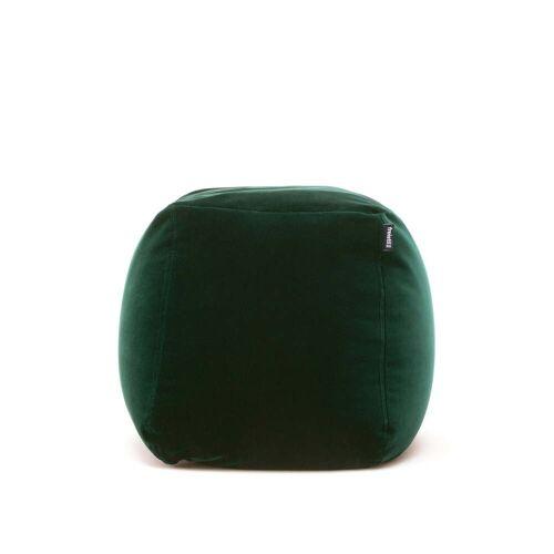 freistil - 173 Pouf, Ø 55 cm, tannengrün (6084)