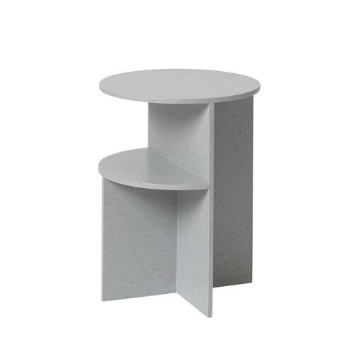 Muuto - Halves Beistelltisch, Ø 35,5 cm, grau