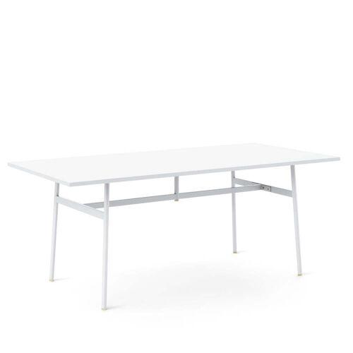 Normann Copenhagen - Union Esstisch, 180 x 90 cm, weiß