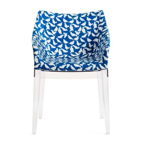 Kartell - La Double J. Madame Stuhl, klar / blau (uccellini)