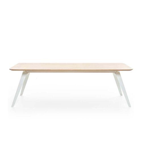 Puik - Fold Esstisch 200 × 95 cm, Eiche / weiß