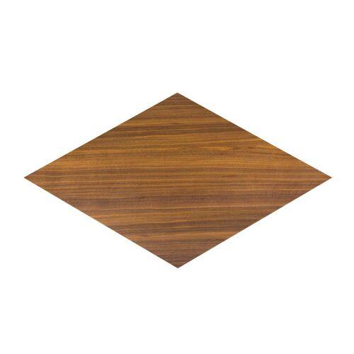 Conmoto - Karo Einlegeplatte, Nussbaum klar lackiert