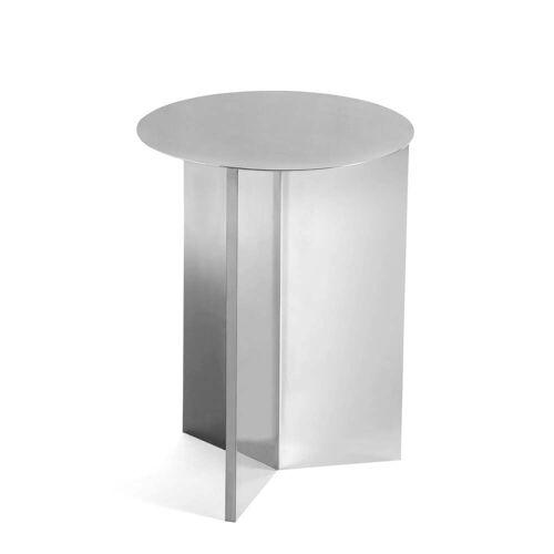 HAY - Slit Table High, Ø 35 x 47 cm, spiegelpoliert