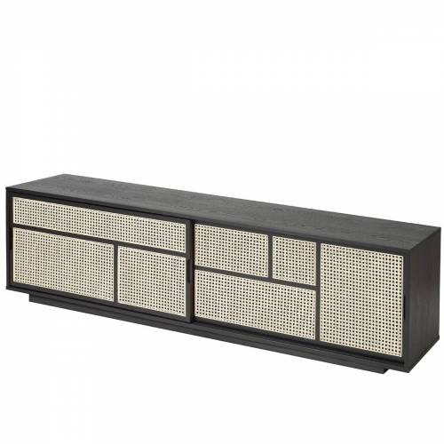 Design House Stockholm - Air Sideboard/ TV- Konsole, schwarz
