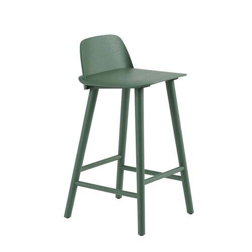 Muuto - Nerd Barhocker H 65 cm, grün