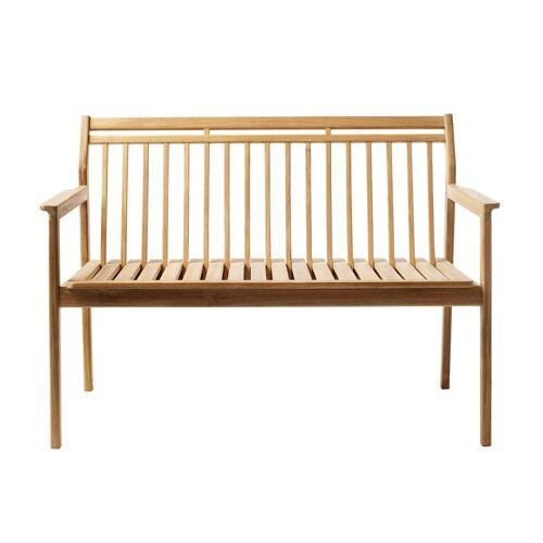 FDB Møbler - M12 Gartenbank 64,5 x 119,7 cm, Teak