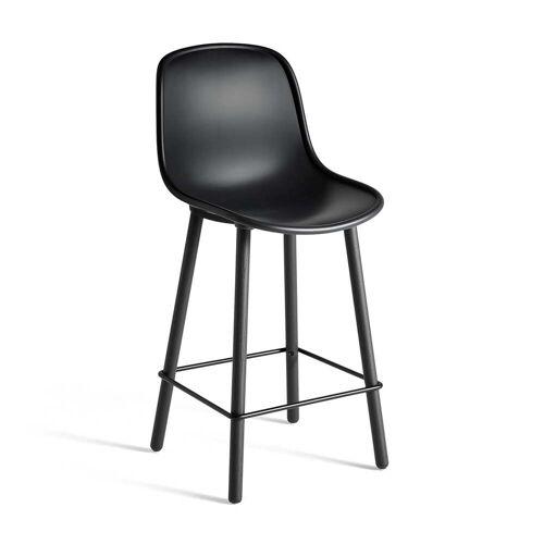 HAY - Neu12 Barhocker, soft black (Sitzhöhe: 65 cm)