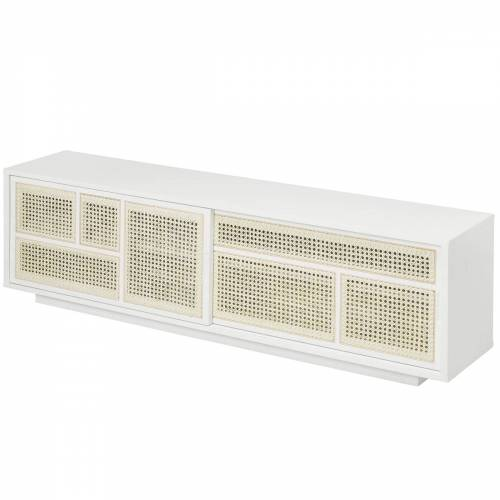 Design House Stockholm - Air Sideboard/ TV- Konsole, weiß / grau