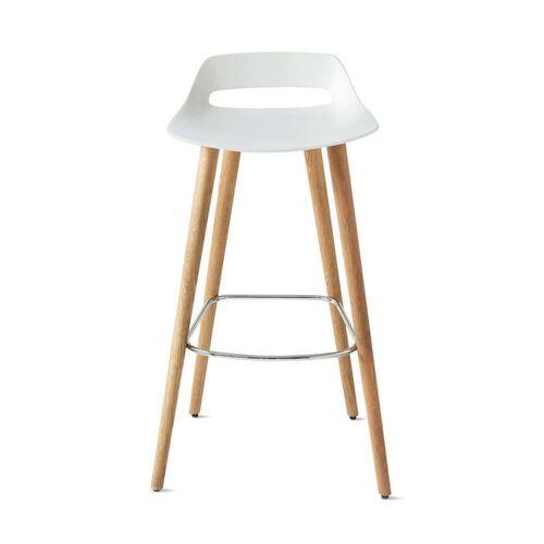 Wilkhahn - Occo Barstuhl, Sitzhöhe 75 cm / weiß