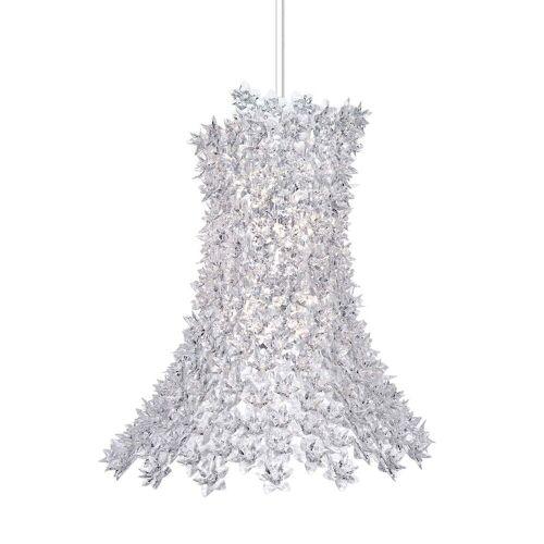 Kartell - Bloom Pendelleuchte, H 70 cm / kristall