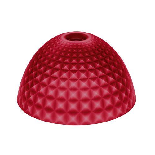 Koziol - Stella Silk Lampenschirm M, transparent rot