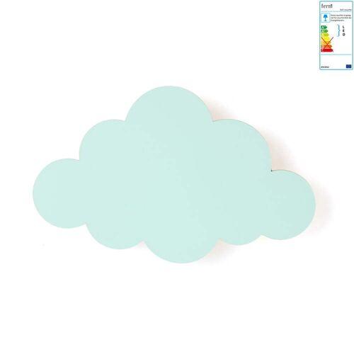 ferm LIVING - Wolkenlampe, mint