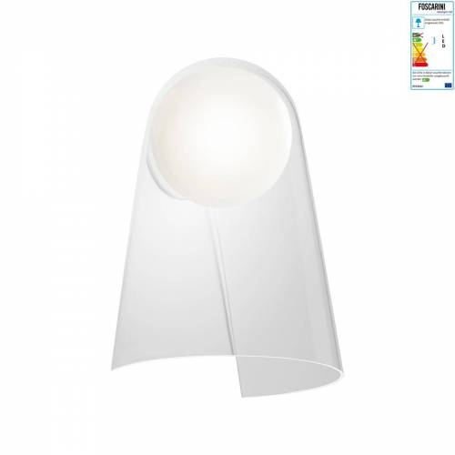 Foscarini - Satellight Wandleuchte LED, weiß / transparent